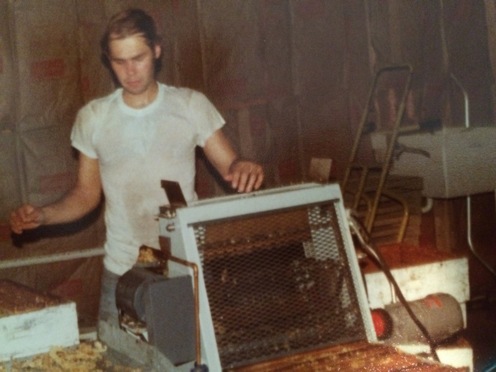 Late 70's from our original honey house